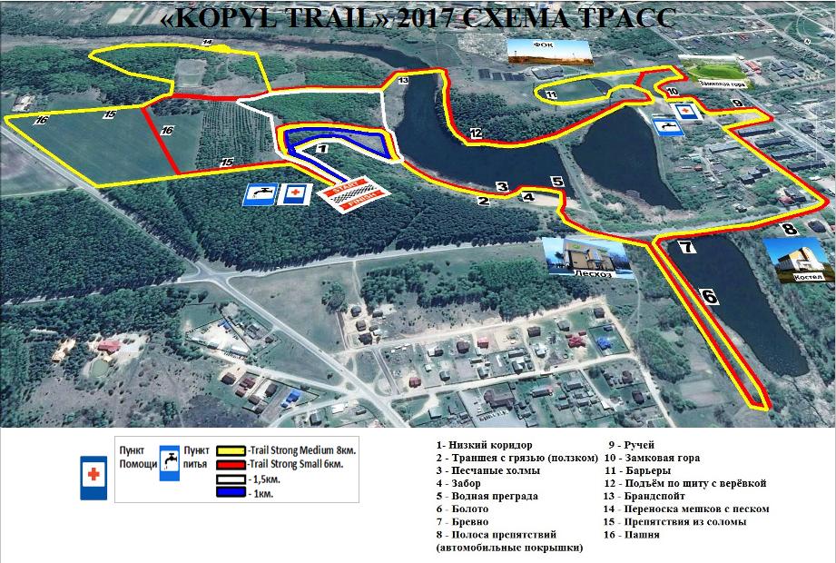 kopyl trail